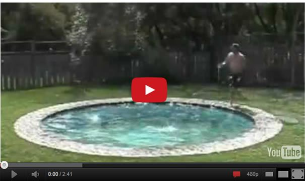 You Might Want To Have This Awesome Hidden Water Pool