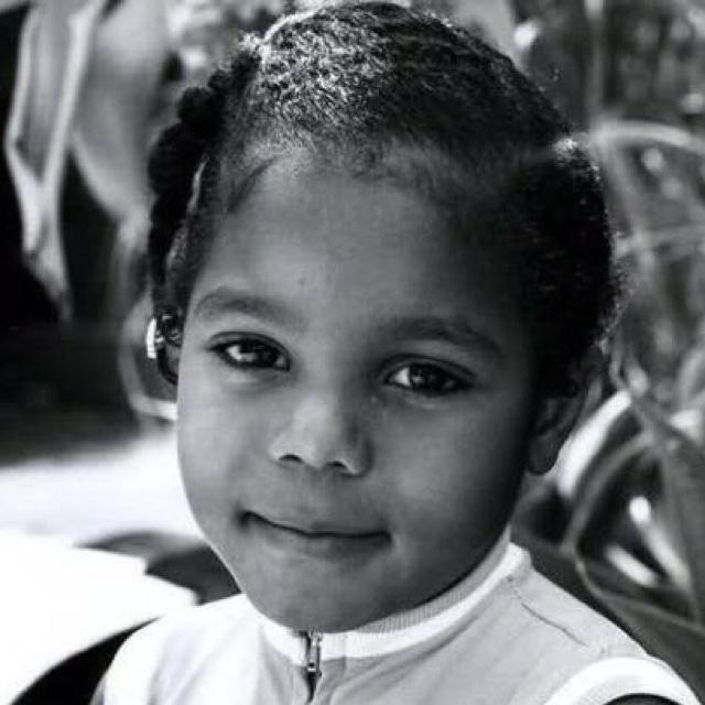 Janet Jackson what a cutie!