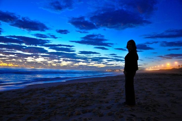 Blouberg beach at night