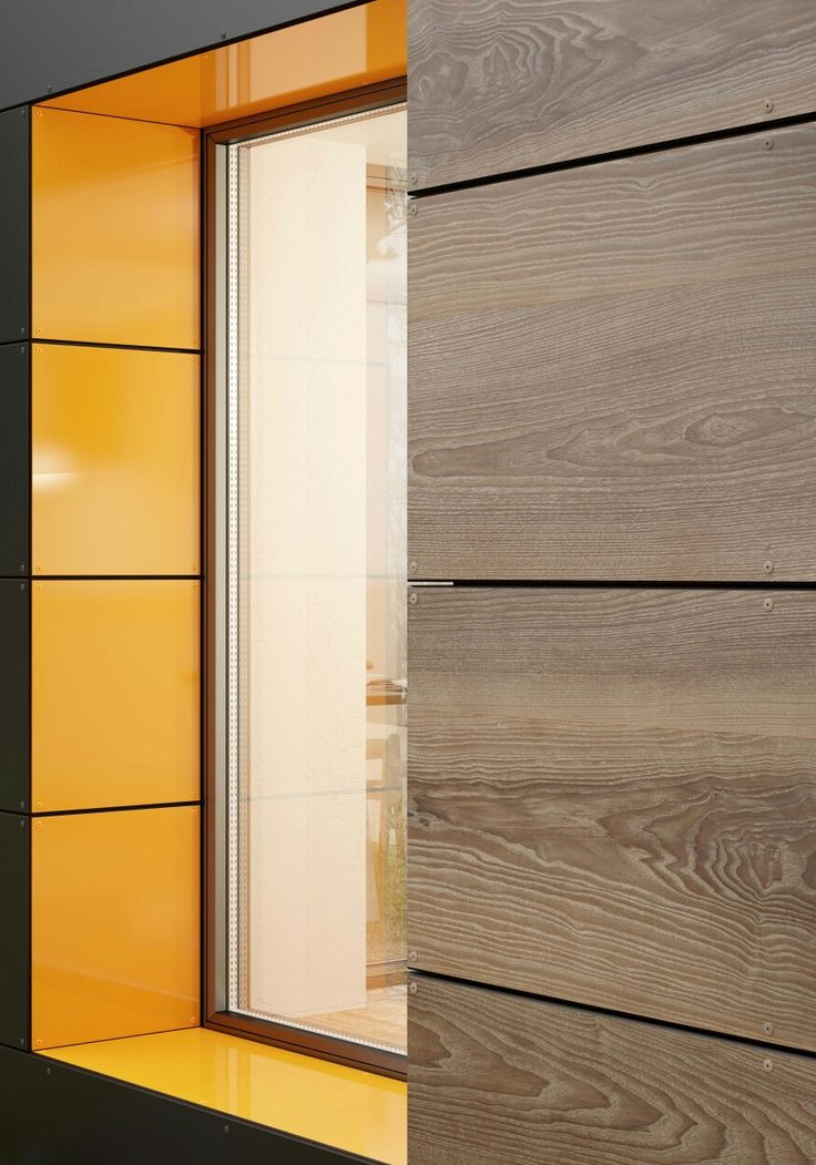 Real wood looks for interiors and exteriors! HPL Facades are the new generation of panels. #Facades #Bestlaminate #Architecture