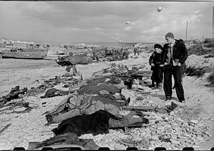 d-day robert capa