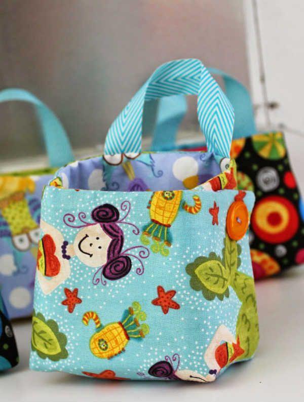 10 et plus patrons de corbeilles et de paniers en tissu   inspiration   Blog de Petit Citron