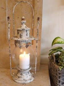 Rustic Cream Victorian Candle Holder - Candle Holders - Candelabra and Candle Holders - Living & Interiors - Home & Interiors - Catalogue | Black Country Metal Works