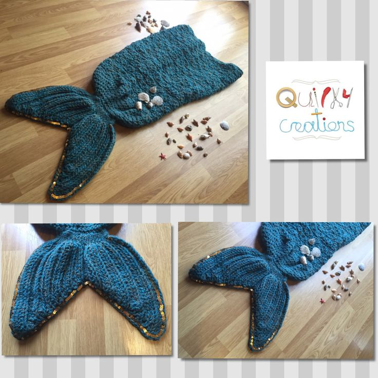 A personal favourite from my Etsy shop https://www.etsy.com/uk/listing/252264001/child-mermaid-tail-blanket-mermaid-tail