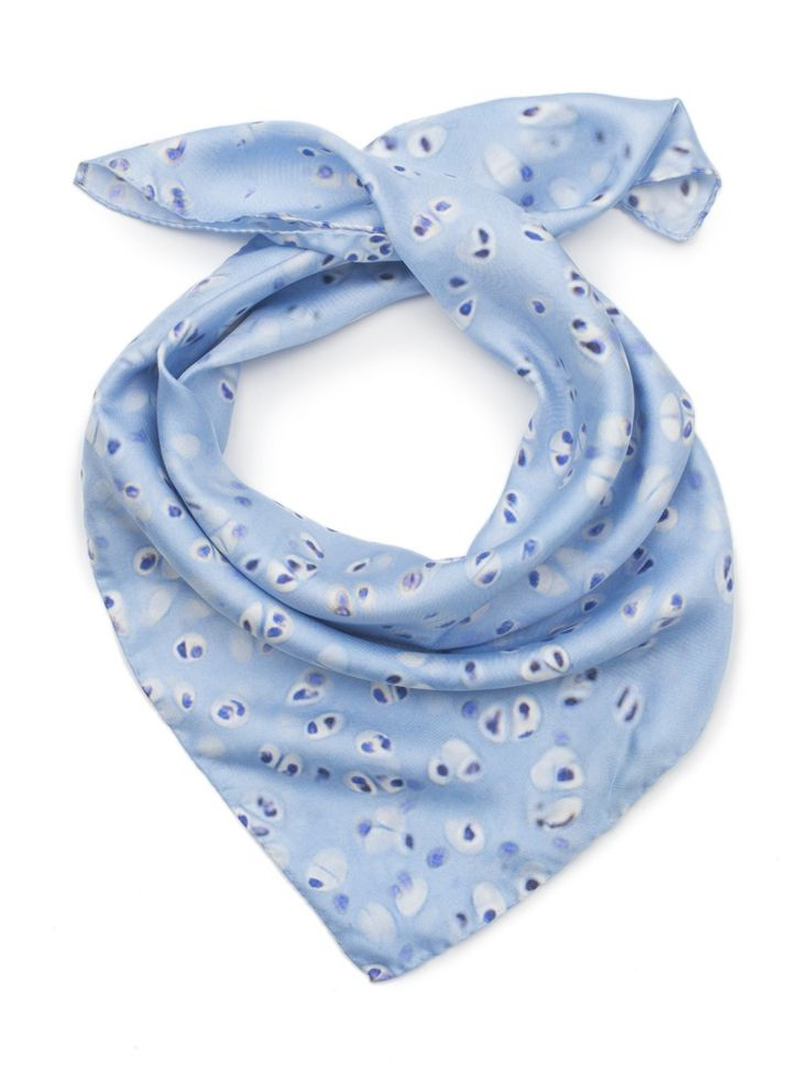 Image of Histology Silk Scarf - Hyaline Cartilage