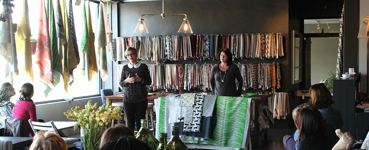Heather Moore of Skinny la Minx launching her new collection at our JHB Showroom.