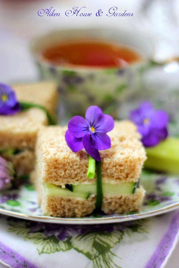 Aiken House & Gardens: Tea on our Summer Porch