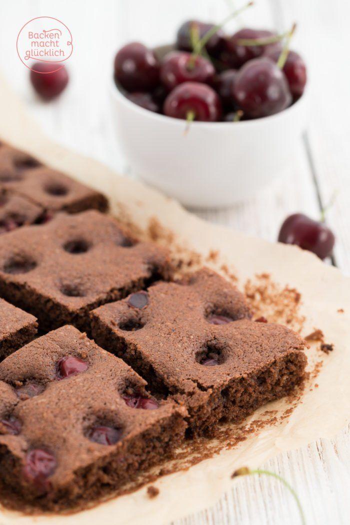 Saftiger Schoko Kirsch Kuchen Rezept Backen Pinterest Cake