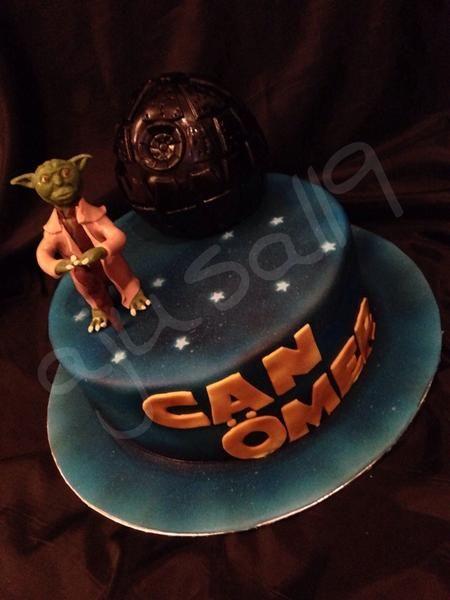 Star Wars Torte, Star Wars Cake