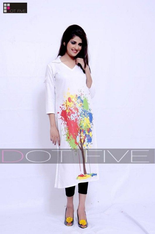 Dot Five Casual Dresses 2013 For Women 0011