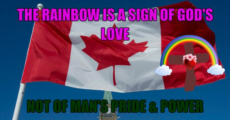 God's Rainbow, Not Man's Pride