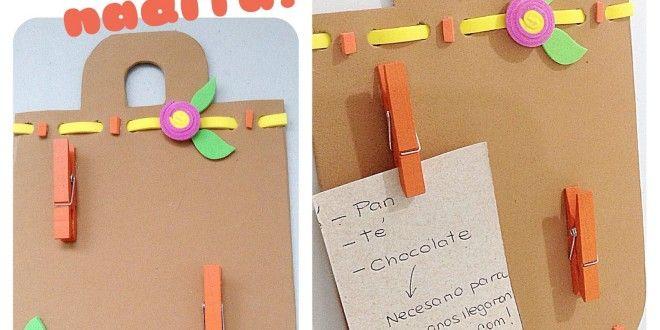Imán para el Refrigerador: La lista de compras a la mano! | Los Marcianos Llegaron