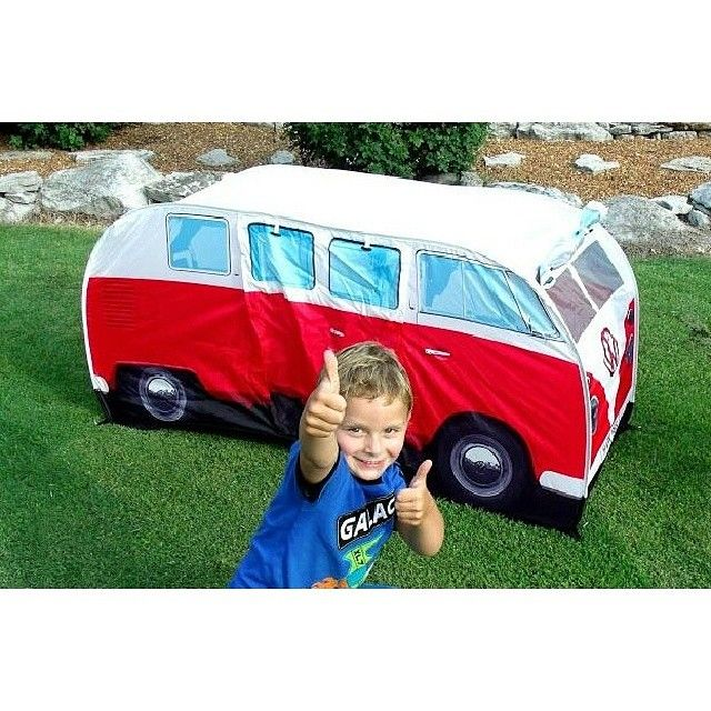 Two thumbs up for #vwkidstent! #vwtent #vwpopuptent #toys #fun  sc 1 st  Pinterest & 54 best Our MF Tents images on Pinterest | Tent Tents and Vw tent