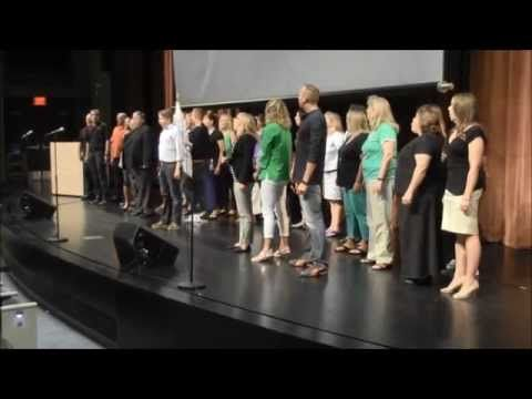Teachers sing 'One Day More' before students return to school — and it's awesome | WGN-TV