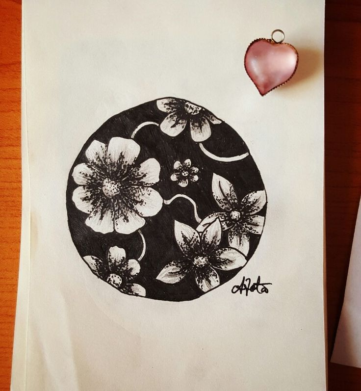 #flowers #dots #illustration #nature