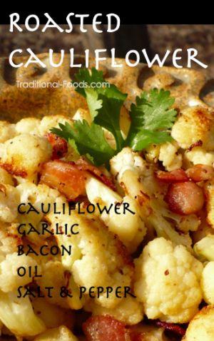 Roasted cauliflower and bacon | My Paleo Life | Pinterest | Roasted ...