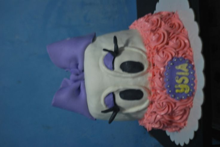 Ysia's Daisy Duck Cake  on Cake Central