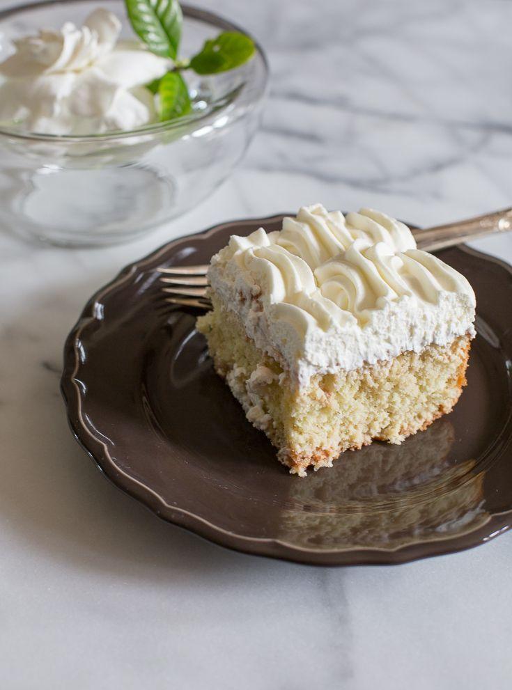 Lucuma Tres Leches cake - Chilean tres leches cake with superfruit Lucuma