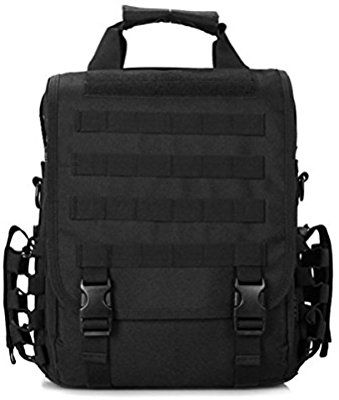 Amazon.com  LarKoo 3 in 1 Sling Backpack Handbag Messenger Inclined  Shoulder Bag - Outdoor Multifunction Military Tactical …  ced995d19407f