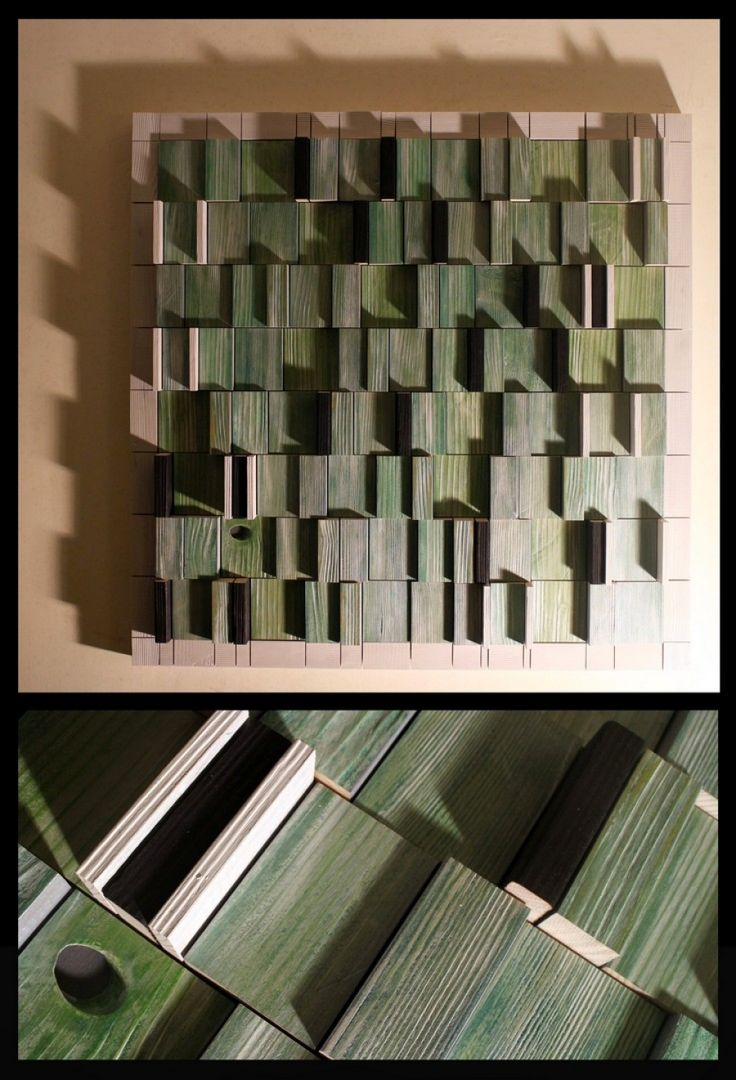 Composition 23, 82 x 82, acrylic on wood, 2015