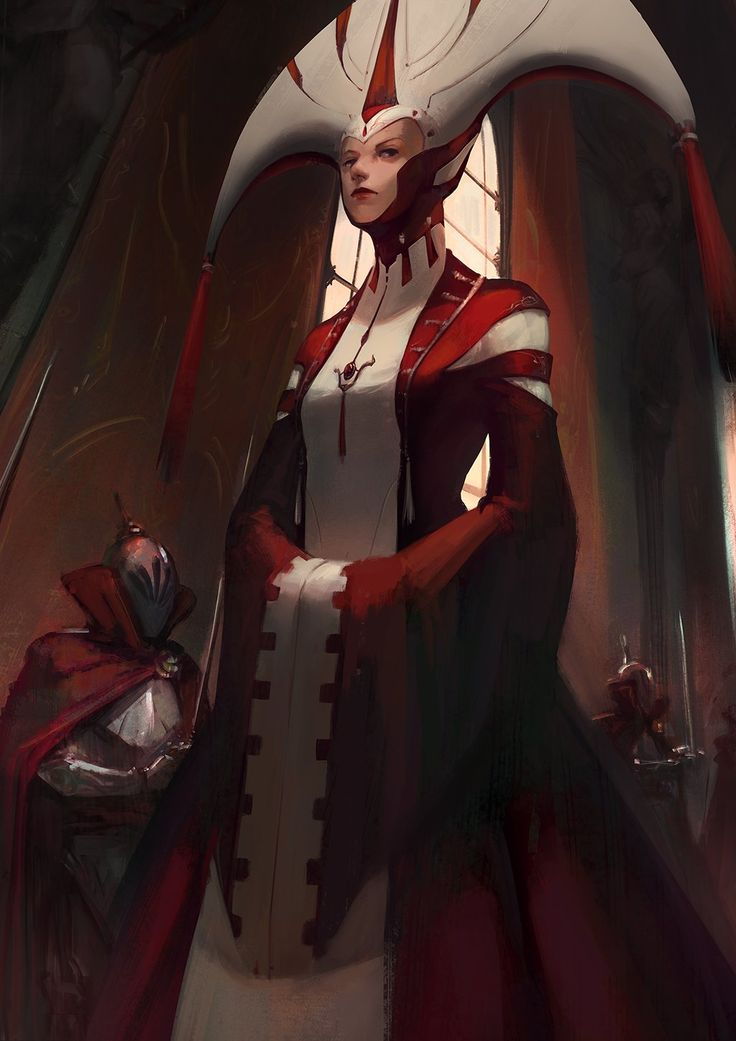 Signora Rosso, Truc Bui on ArtStation at http://www ...