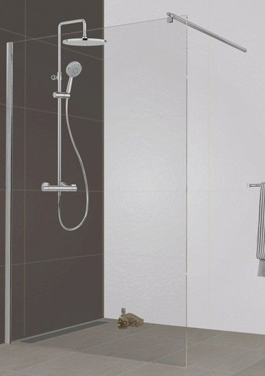 Leda shower wall which fits 348 euros leda is sold in for Aubade paroi de douche