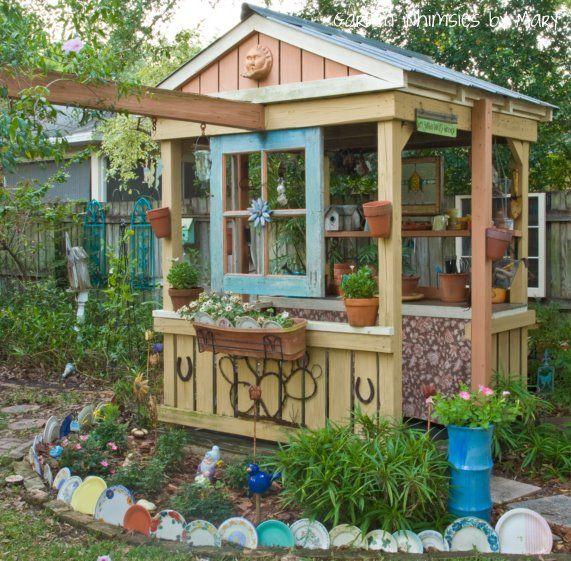 decorating garden sheds mn