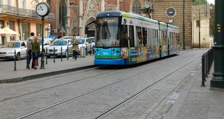 Tram in Cracow  (fot.by Jerzy Ślusarczyk)