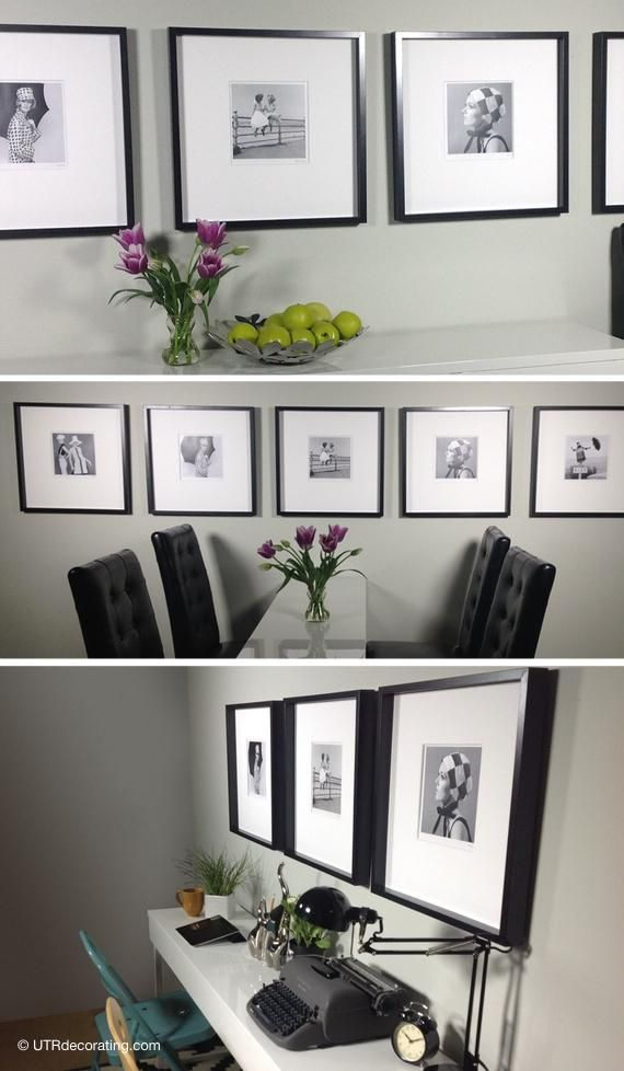 How To Hang Pictures In A Row Decorating Inspirations For My Home