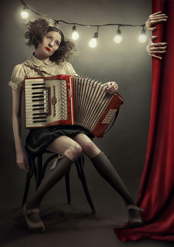 The Circus Leaves Town by Emanuela Belovarski, via Behance