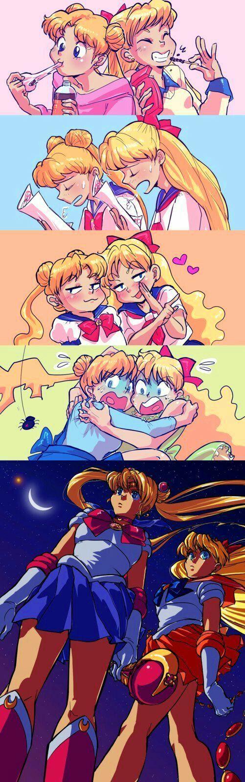TWINSIES! Mina and Usagi