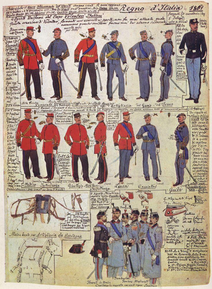 07 Uniformi di Armi Varie - 1861