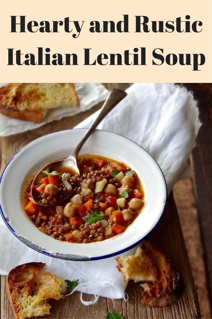 This soup is rustic, hearty and perfect for those days when you want ...