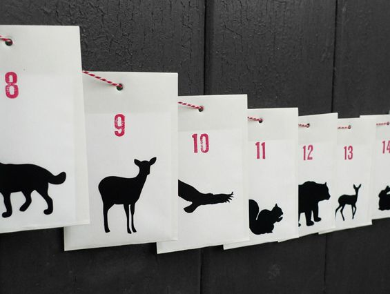 adventskalender living at home handmade advent calendars pinterest handmade advent. Black Bedroom Furniture Sets. Home Design Ideas
