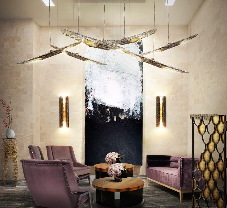 MAASAI Sofa   Modern Sofas   Velvet Sofa   Sofa Design   #modernsofas   #livingroomsofass   #sofas   Find more at: http://brabbu.com/category/upholstery
