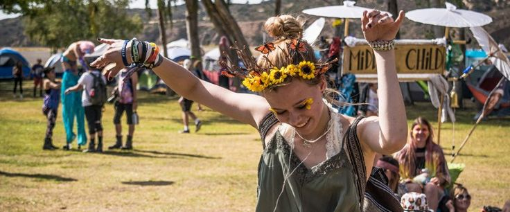 A Festival Guide to the tent next door