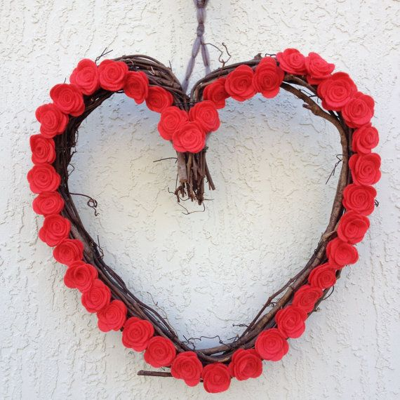 CLEARANCE Heart shaped Wreath featuring 38 by PartyArtDesignbyEML, $13.00