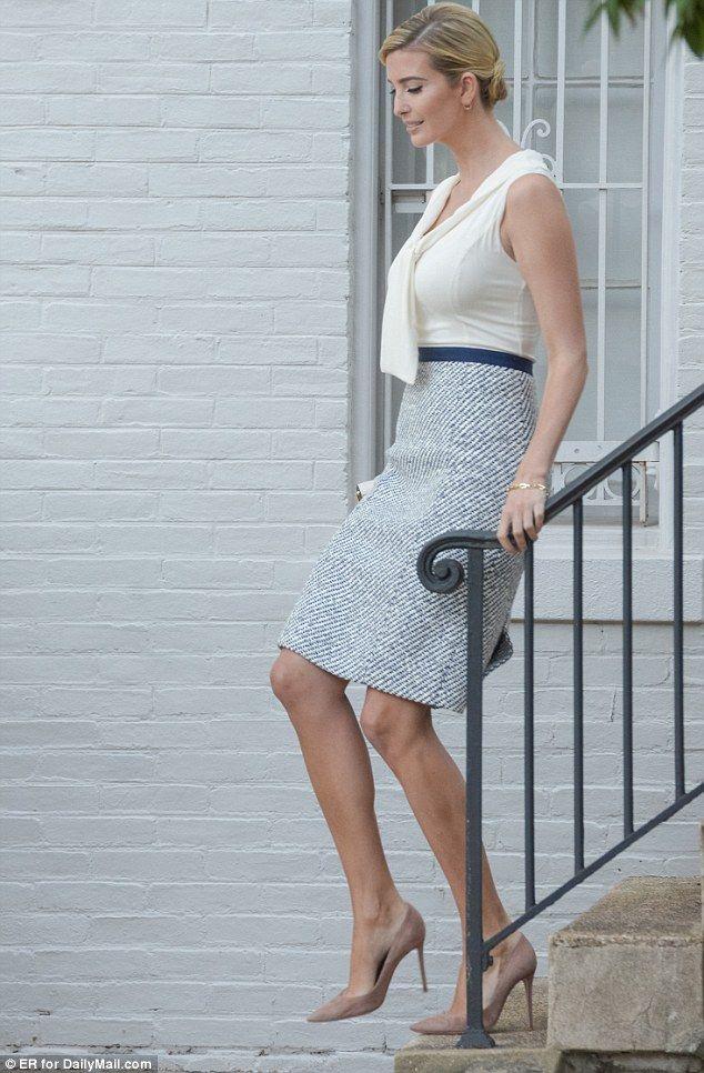 Ivanka Trump leaves home after Mika Brzezinski tweet | Daily Mail Online