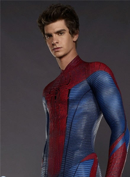 Annndd the new one, Andrew Garfield. Spiderman is definitely my favorite superhero.