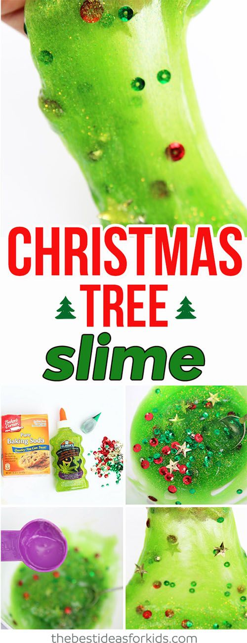 Christmas Tree Slime ,  The Best Ideas for Kids