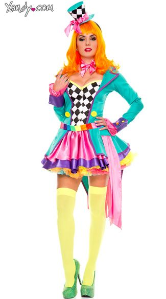 Deluxe Hatter Hottie-kostume, Sexet tefest Hatter-4348