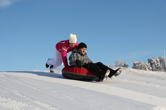 Snow sliding by VisitLakeland, via Flickr
