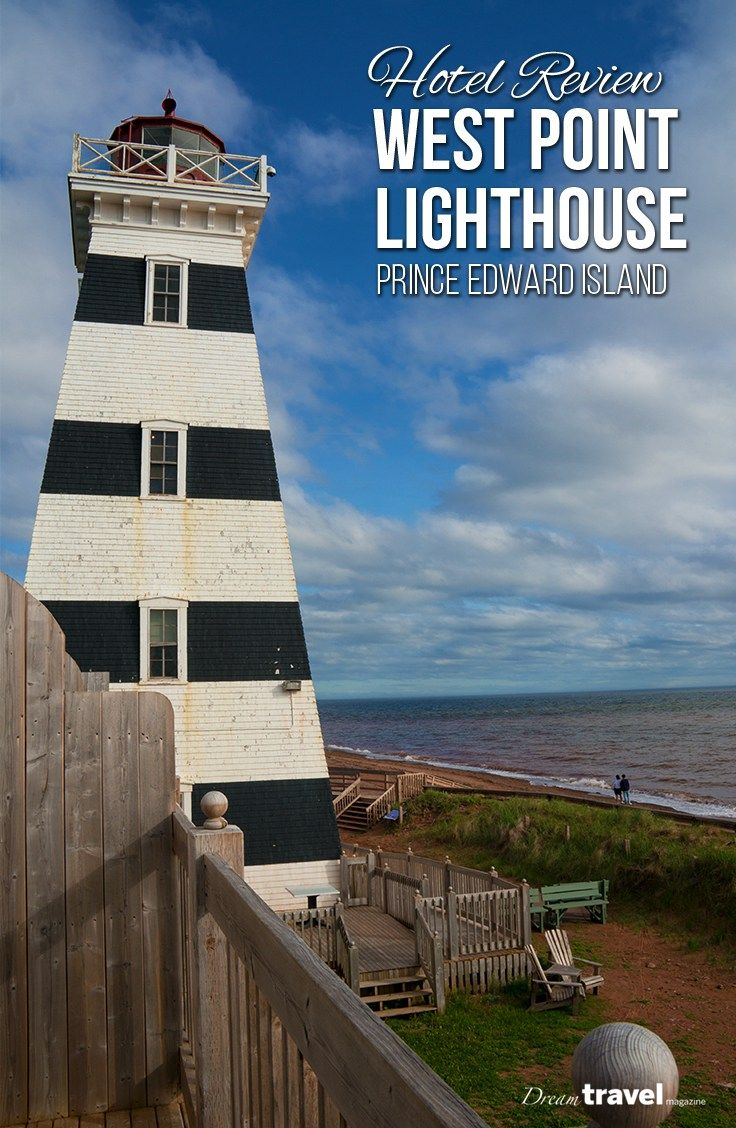 Heading to Prince Edward Island? We stopped at the West Point Lighthouse Inn during our 2-day road trip from Charlottetown to West Point. With a great view of the beach from each room, long walks collecting sea glass, the friendly staff and a working lighthouse you can visit and climb to the top.