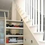 staircase storage ideas - Google Search