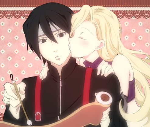 Sai and Ino. / SaiIno