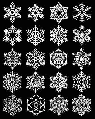 manual  Copos de Nieve en Papel http://manualidades.facilisimo.com/blogs/papel/copos-de-nieve-en-papel_849461.html