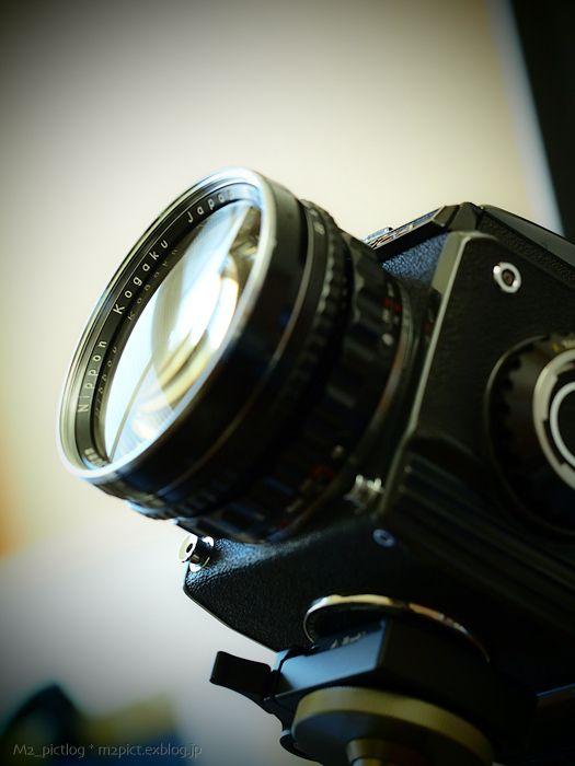 【 NIKKOR-H 1:3.5 f=50mm on Zenza BRONICA S2 BLACK 】