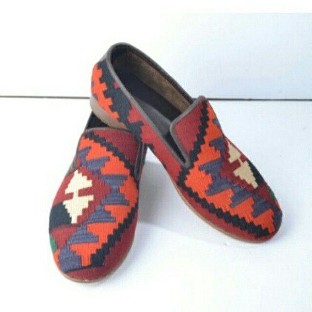 Kilim erkek ayakkabı