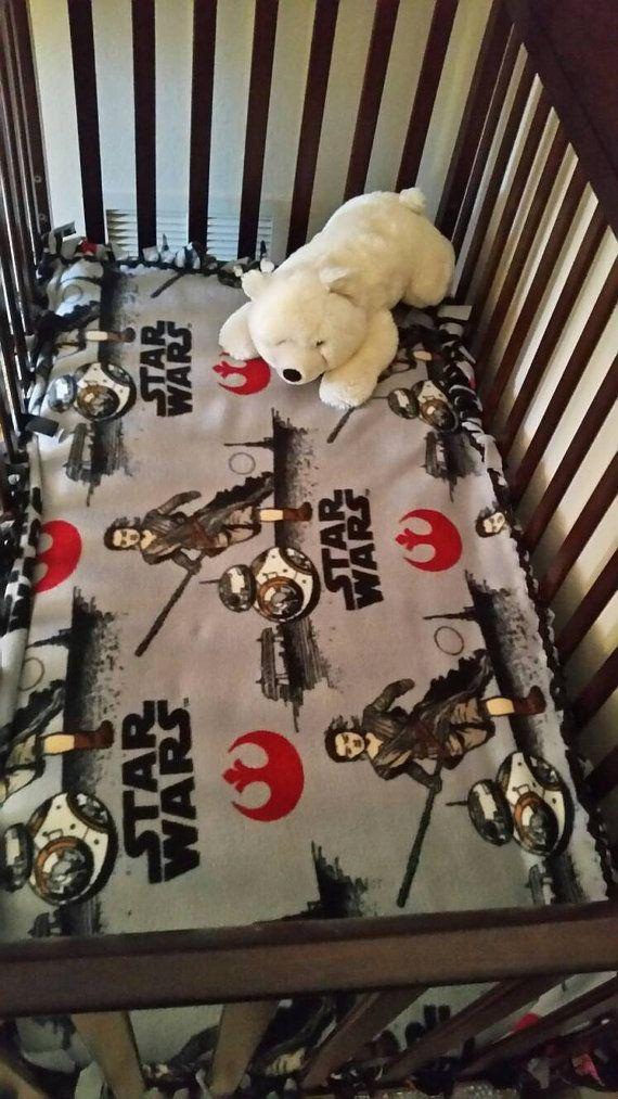 Star Wars Blanket Star Wars Baby Blanket Star by Tiethisblankets
