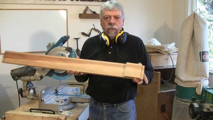 Making Picture Frames with a Sliding Mitre Saw - A woodworkweb.com woodw...